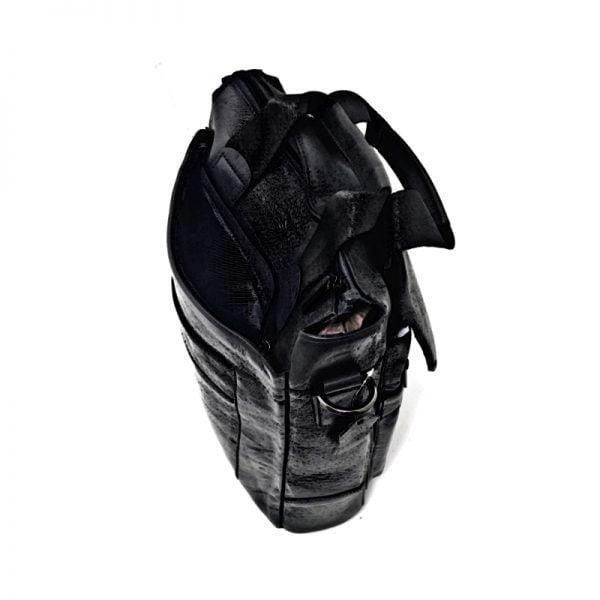Borseta Magrot din piele naturala, de umar si mana, 27/30 negru, Magrot 924