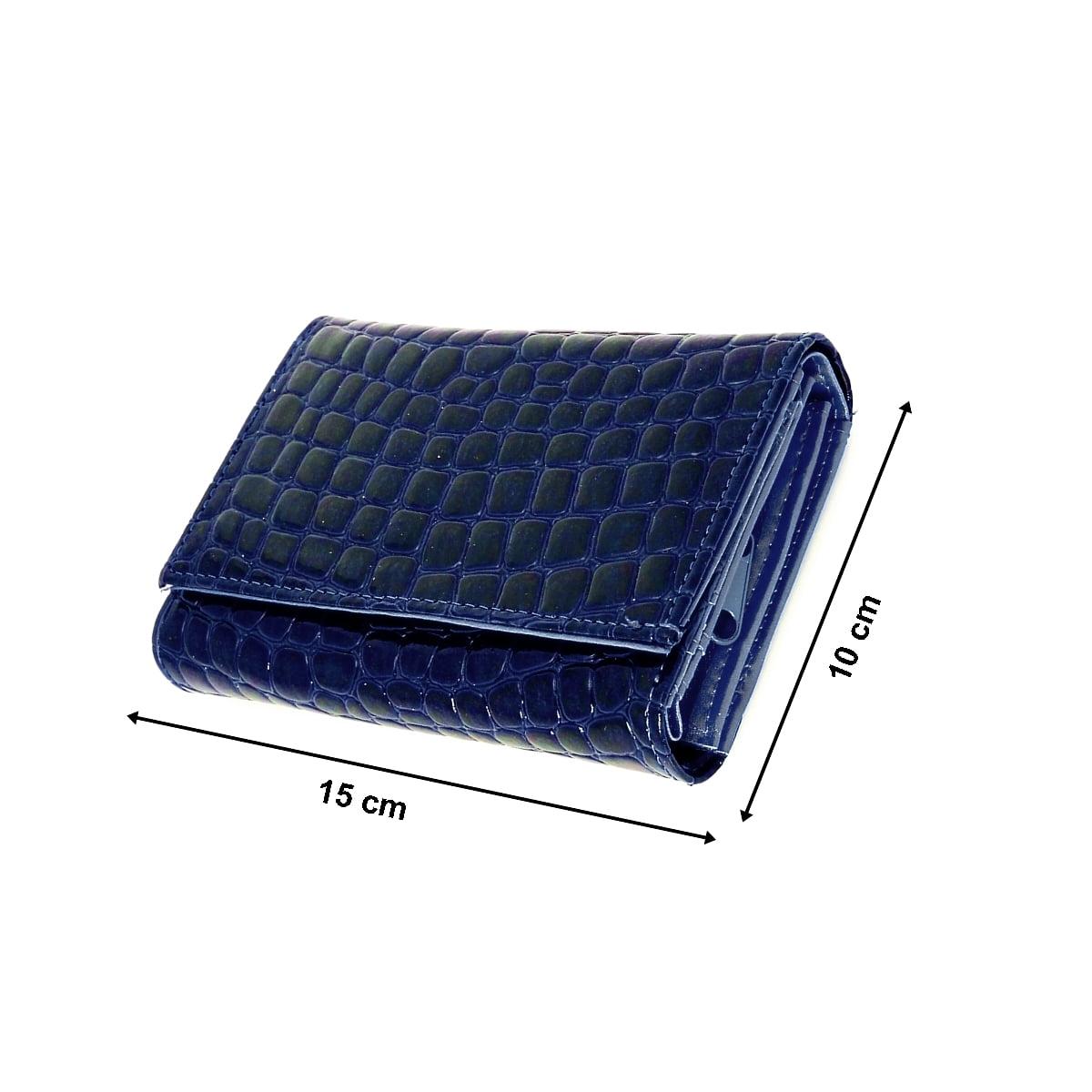 Portofel dama, lacuit, blumarin, buzunar mare lateral,,din material sintetic,15/10 cm, Magrot 4016