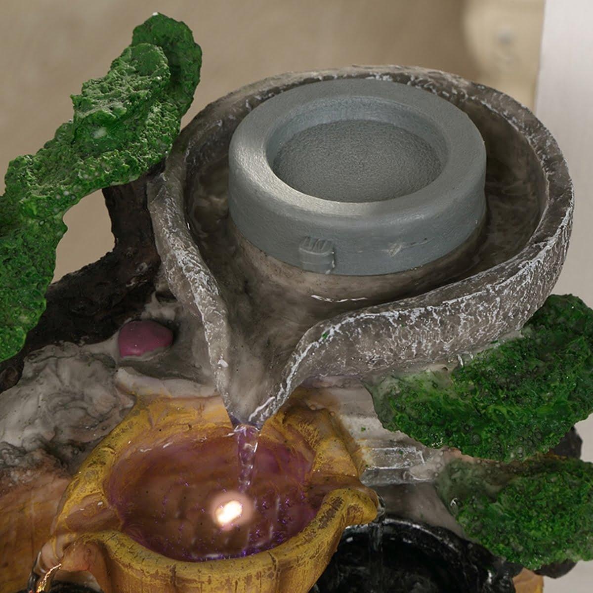 Fantana arteziana, de interior 24 cm, Magrot 002 feng shui