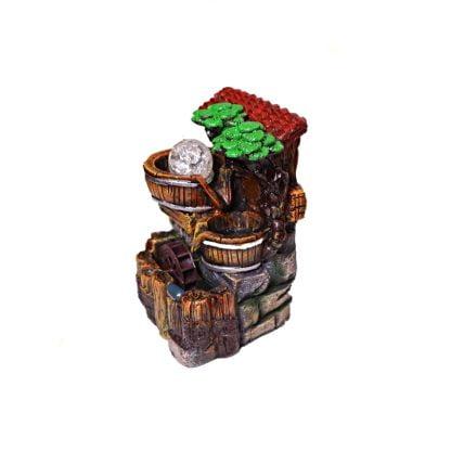 Fantana cascada arteziana, de interior 20 cm, Magrot 004 feng shui