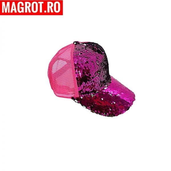 Sapca roz bombon4