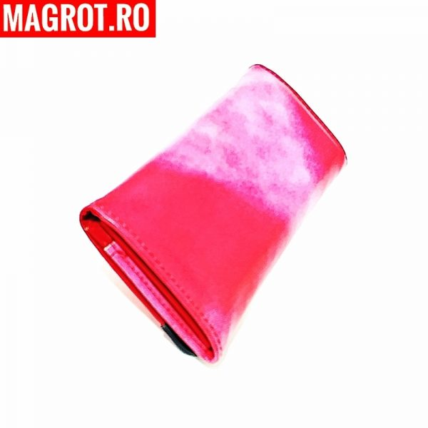 portofel roz slim