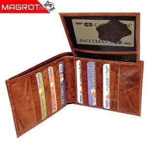 Portofel piele caramiziu, 96.Portofel barbatesc Canpel, din piele, negru. Este produs in Turcia de firma Canpel.