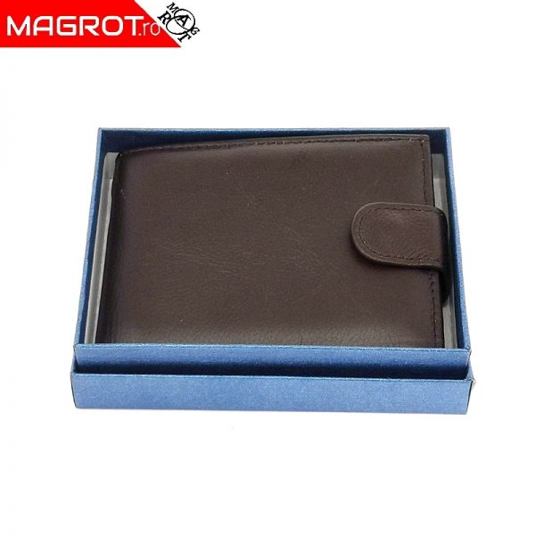 Portofel barbatesc, 1003A , din piele, ideal de purtat zi de zi rezistent si incapator.Poate fi un cadou frumos oferit celor dragi.