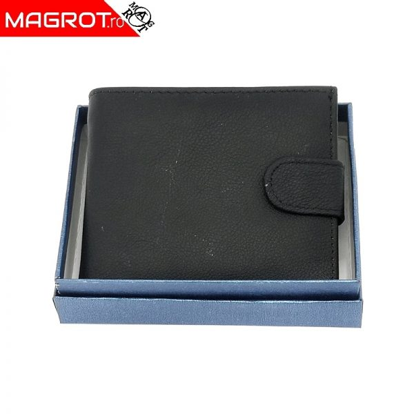 Portofel 1008A black magrot , din piele, ideal de purtat zi de zi rezistent si incapator.. Un cadou minunat oferit celor dragi. Vezi oferta