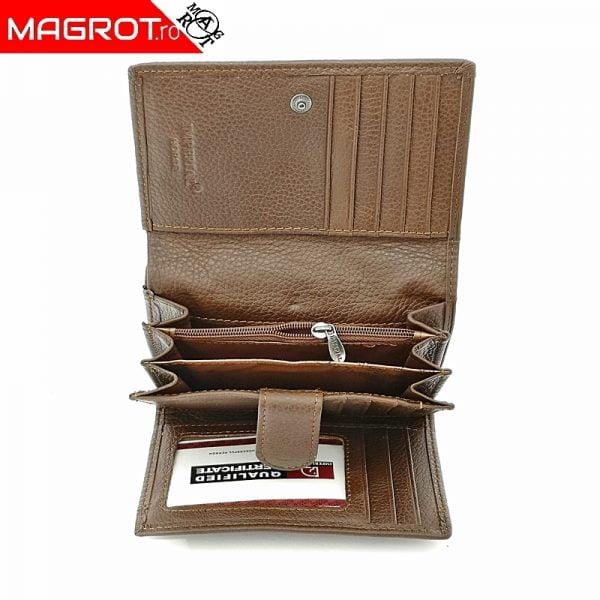 Portofel Horse 008 maro,din piele naturala,original Imperial Horse cu buzunar mare lateral. Vezi oferta pe www.magrot.ro magrot-shop