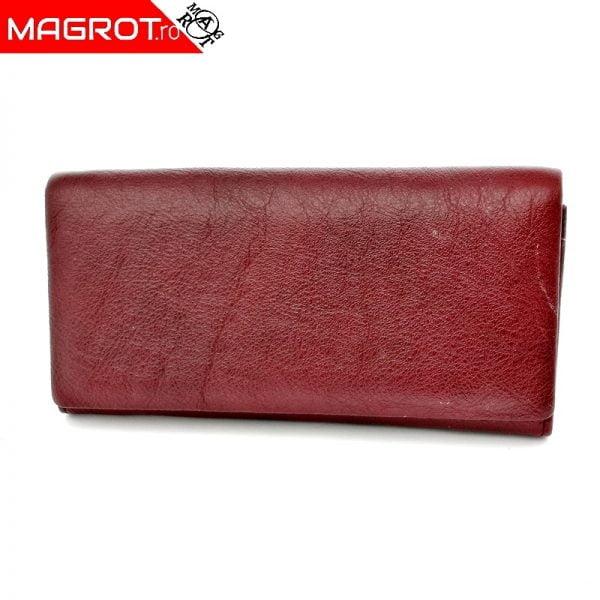 Portofel dama A-01 purpleish original Hasion din piele naturala veritabila. Este un portofel elegant si incapator. Detalii: acceseaza oferta!