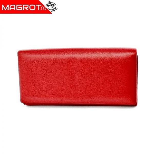 Portofel dama A-01 red original Hasion din piele naturala veritabila. Este un portofel elegant si incapator. Detalii: acceseaza oferta!
