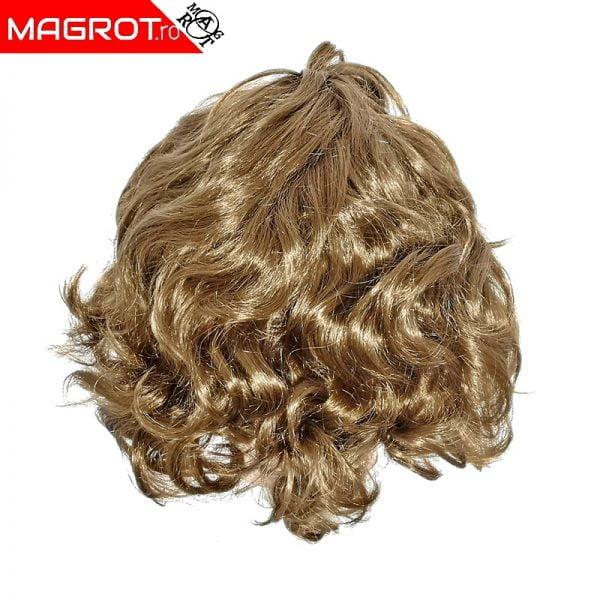 Peruca par blond cenusiu asemanatoare cu parul natural sunt ideale pentru schimbare de look fara vopsirea parului natural Vezi acum