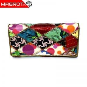 Portofel de dama multicolor 817