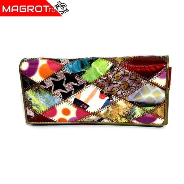 Portofel multicolor lacuit 819