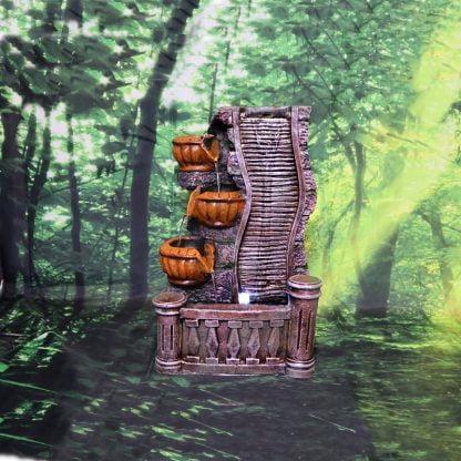 Fantana arteziana, tip cascada de interior 36 cm, Magrot 003 feng shui